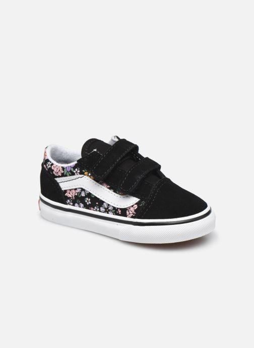 Sneakers Vans TD Old Skool V Zwart detail