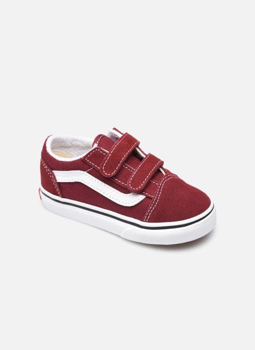 Sneakers Vans TD Old Skool V Bordeaux detail