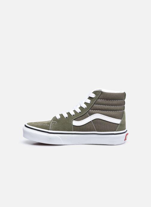 Sneakers Vans UY Sk8-Hi Groen voorkant