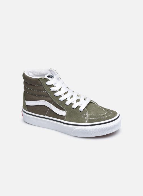 Sneakers Vans UY Sk8-Hi Groen detail