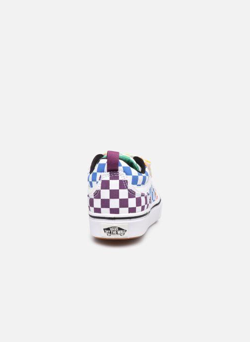 Deportivas Vans UY Comfycush New skool V Multicolor vista lateral derecha