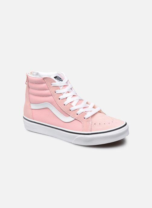 Sneakers Vans JN SK8-Hi zip Roze detail