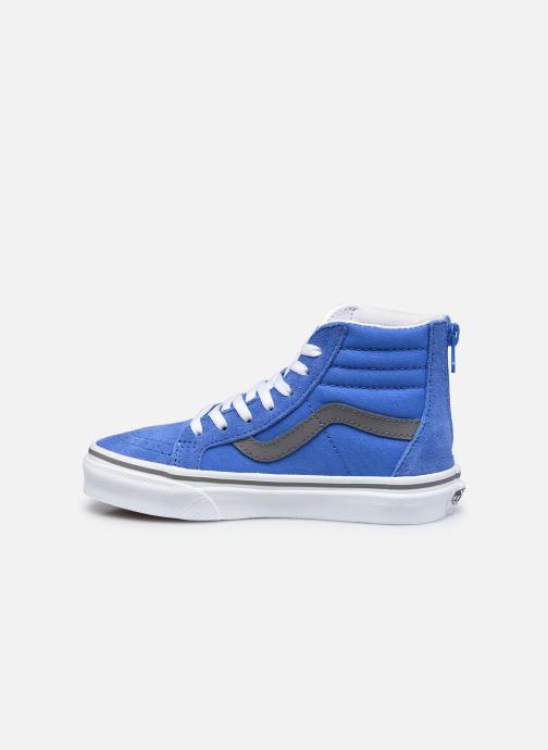 Baskets Vans UY SK8-Hi Zip Bleu vue face