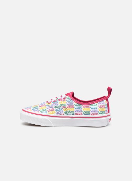 Sneaker Vans UY Authentic Elastic Lace weiß ansicht von vorne