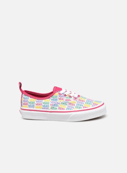 Sneaker Vans UY Authentic Elastic Lace weiß ansicht von hinten