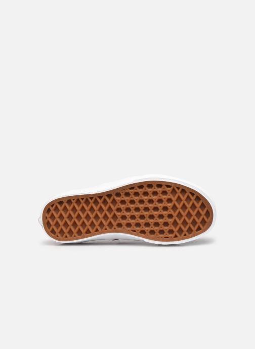 Sneaker Vans UY Authentic Elastic Lace weiß ansicht von oben