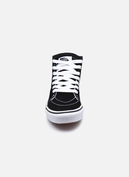 Baskets Vans JN Comfy cush SK8-HI Multicolore vue portées chaussures