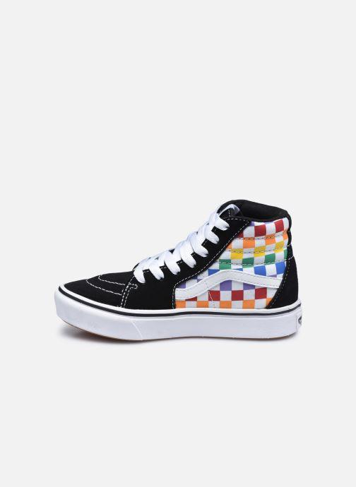 Baskets Vans JN Comfy cush SK8-HI Multicolore vue face