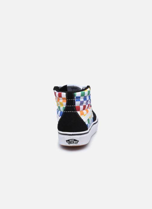 Baskets Vans JN Comfy cush SK8-HI Multicolore vue droite