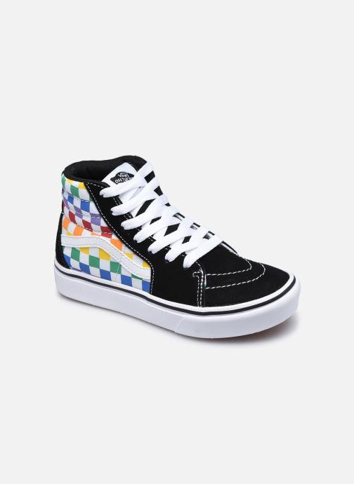 Baskets Vans JN Comfy cush SK8-HI Multicolore vue détail/paire