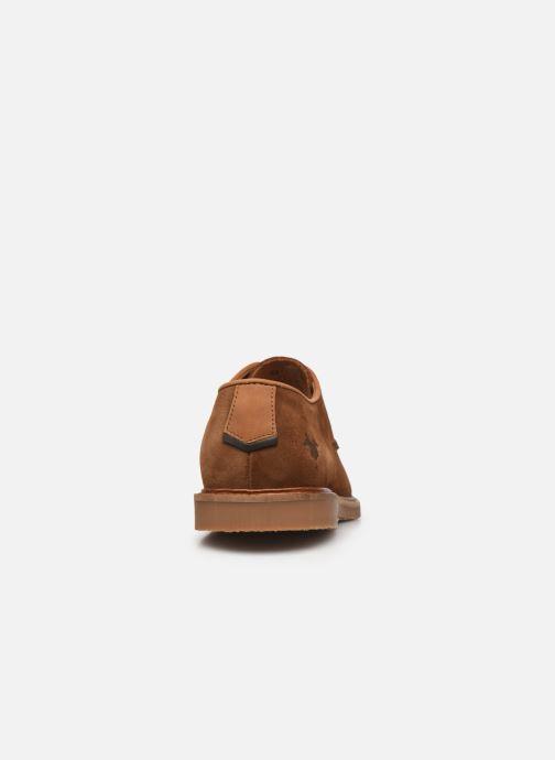 Zapatos con cordones Kost MIKENO 5 Marrón vista lateral derecha