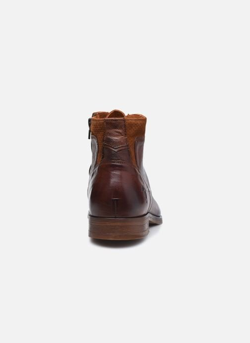 Bottines et boots Kost HOWARD 35 Marron vue droite