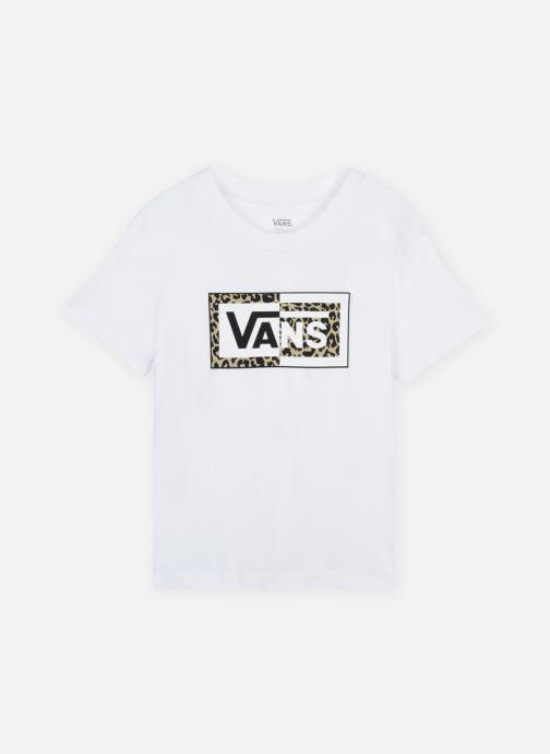 Vêtements Vans SPLIT LEOPARD Blanc vue détail/paire