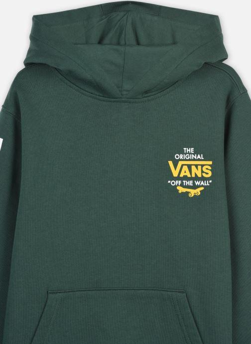 Vêtements Vans SKATE DISJUNCTION PO BOYS Vert vue face