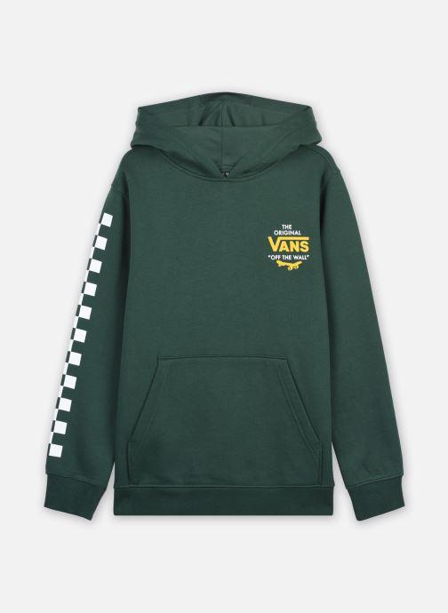 Vêtements Vans SKATE DISJUNCTION PO BOYS Vert vue détail/paire