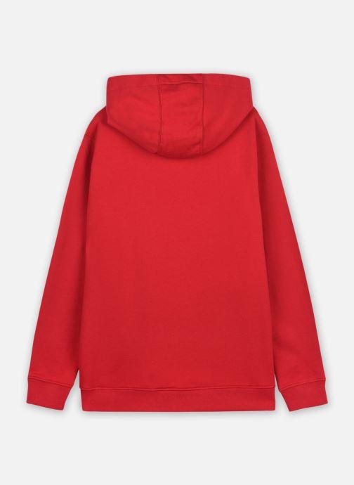 Vêtements Vans VANS CLASSIC PO II BOYS Rouge vue portées chaussures