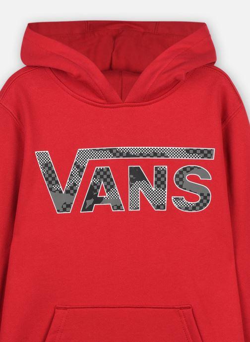 Vêtements Vans VANS CLASSIC PO II BOYS Rouge vue face