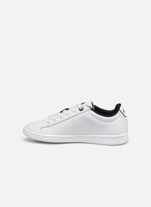 Baskets Lacoste Carnaby Evo 0120 2 Blanc vue face