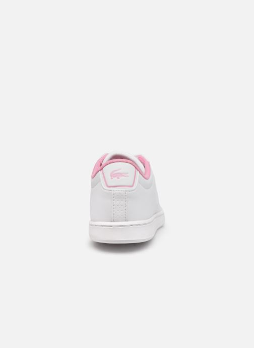 Baskets Lacoste Carnaby Evo 0120 2 Blanc vue droite