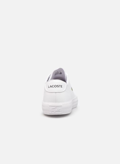 Sneaker Lacoste GRIPSHOT 0120-2 weiß ansicht von rechts