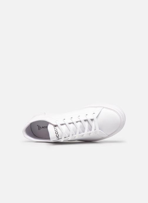 Sneaker Lacoste GRIPSHOT 0120-2 weiß ansicht von links