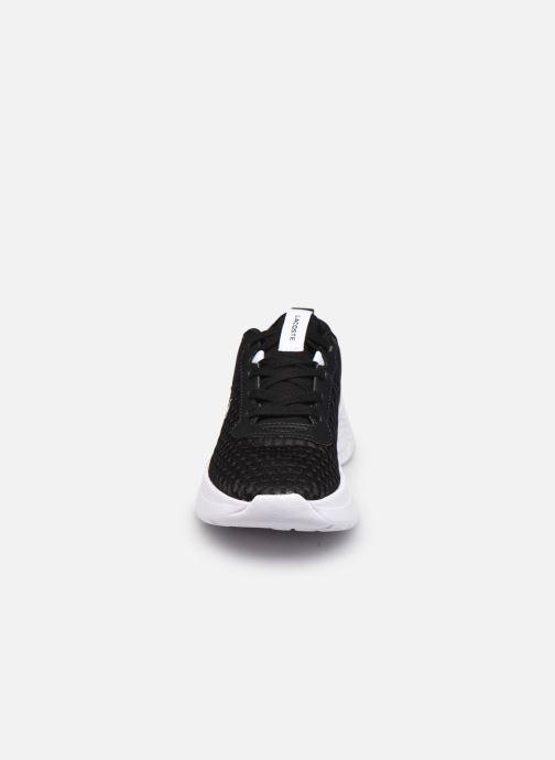 Baskets Lacoste COURT DRIVE 0120-1 Noir vue portées chaussures