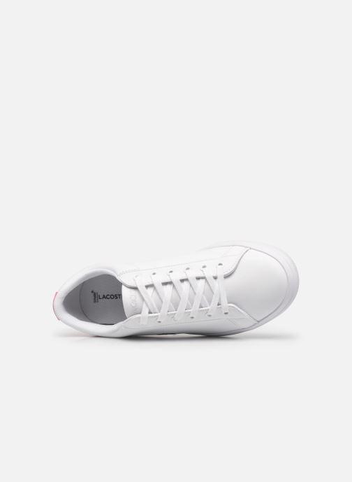 Baskets Lacoste LEROND 0120-1 Blanc vue gauche
