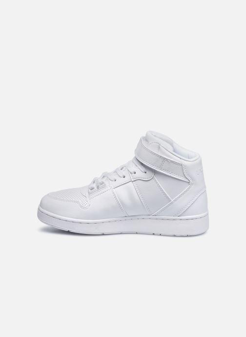 Sneaker Lacoste TRAMLINE MID 0120-1 weiß ansicht von vorne