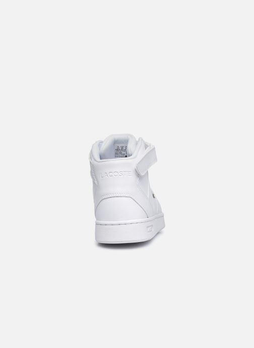Sneaker Lacoste TRAMLINE MID 0120-1 weiß ansicht von rechts