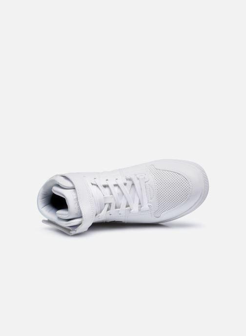 Sneaker Lacoste TRAMLINE MID 0120-1 weiß ansicht von links