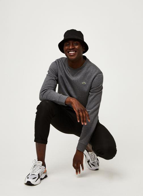 Vêtements Lacoste Sweatshirt ML Croco Gris vue bas / vue portée sac