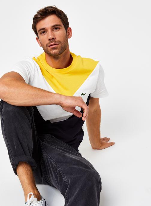 Kleding Accessoires Tee-Shirt MC Géométrique Croco