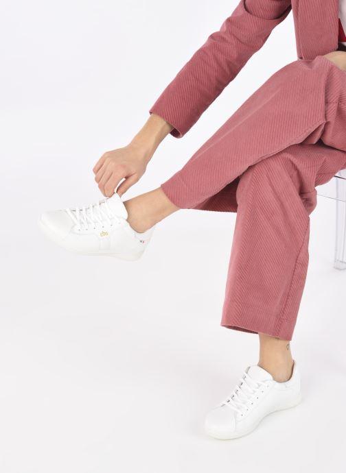 Sneakers TBS Made in France Odhelya Wit onder