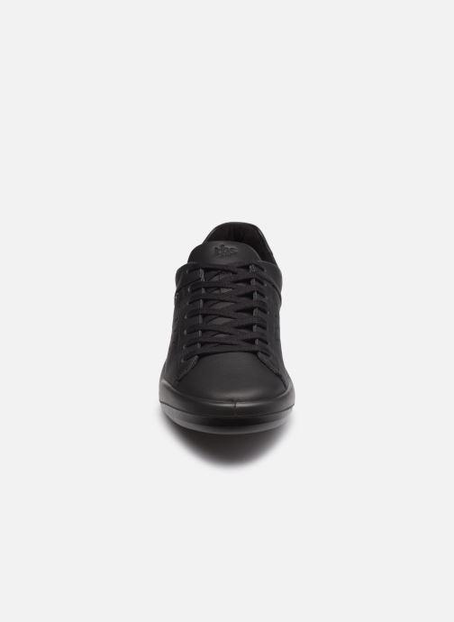Baskets TBS Made in France Algreen Noir vue portées chaussures