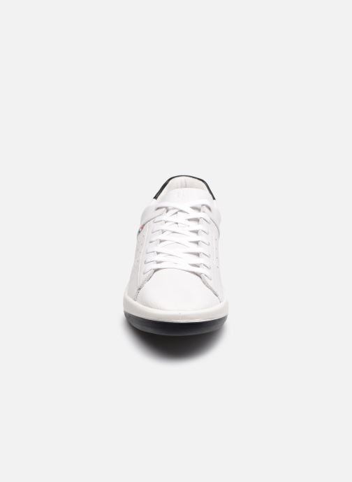 Baskets TBS Made in France Algreen Blanc vue portées chaussures