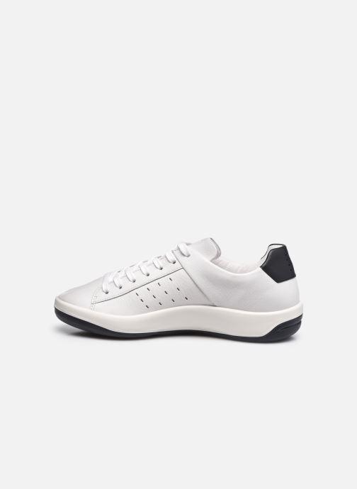Sneaker TBS Made in France Algreen weiß ansicht von vorne