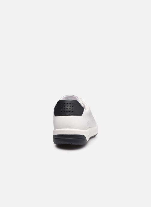 Sneaker TBS Made in France Algreen weiß ansicht von rechts