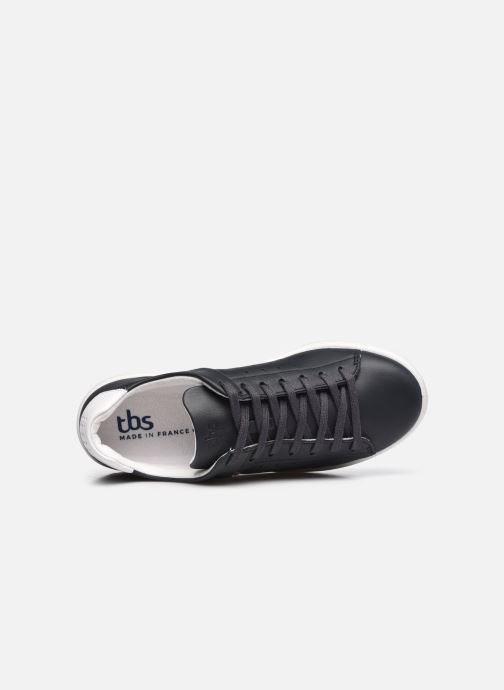 Sneakers TBS Made in France Algreen Azzurro immagine sinistra