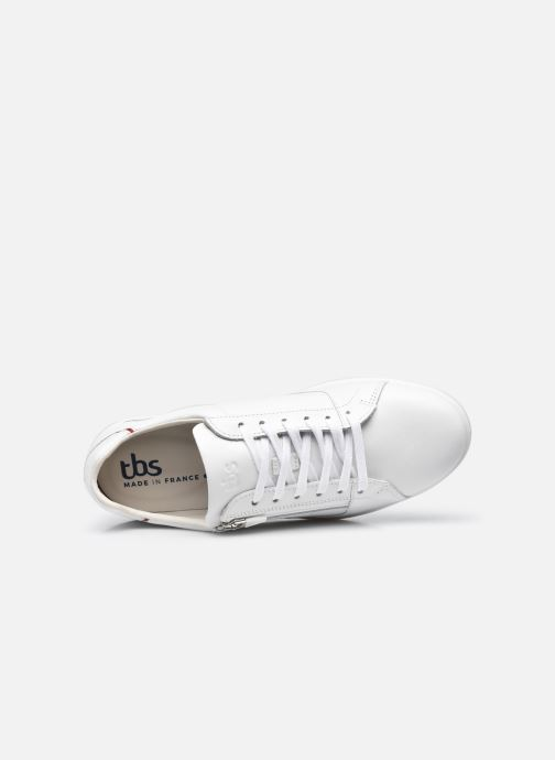 Sneakers TBS Made in France Enrigue Bianco immagine sinistra