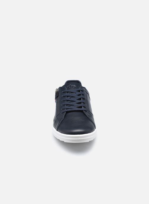Baskets TBS Made in France Enrigue Bleu vue portées chaussures