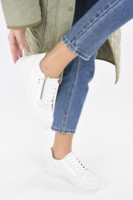 Sneakers TBS Made in France Nahelle Bianco immagine dal basso