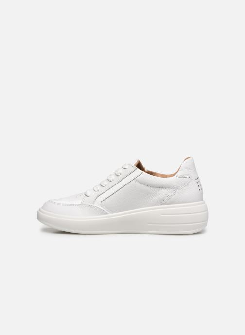Sneakers TBS Made in France Nahelle Bianco immagine frontale