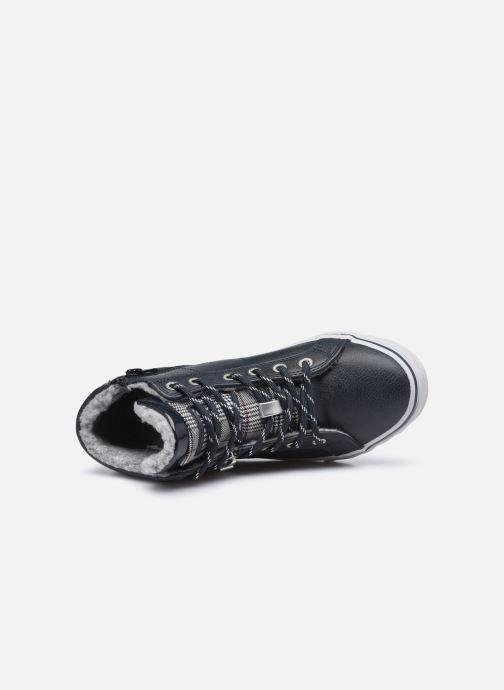 Baskets Mustang shoes 5056603 Bleu vue gauche