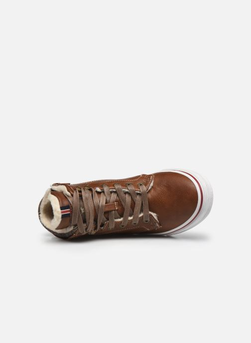 Sneaker Mustang shoes 5056601 braun ansicht von links
