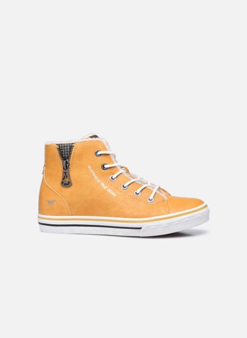 Sneaker Mustang shoes 5056604 gelb ansicht von hinten