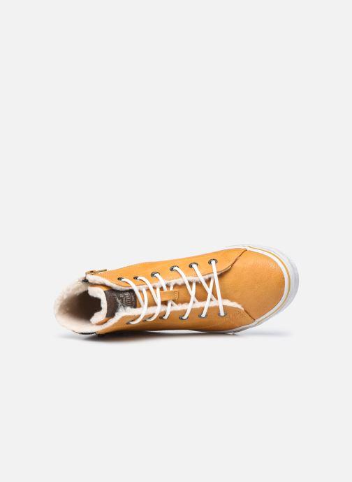 Baskets Mustang shoes 5056604 Jaune vue gauche