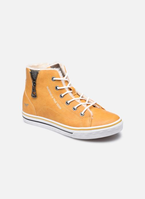 Sneaker Mustang shoes 5056604 gelb detaillierte ansicht/modell