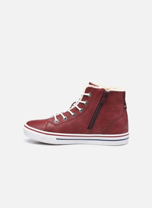Sneakers Mustang shoes 5056604 Bordò immagine frontale