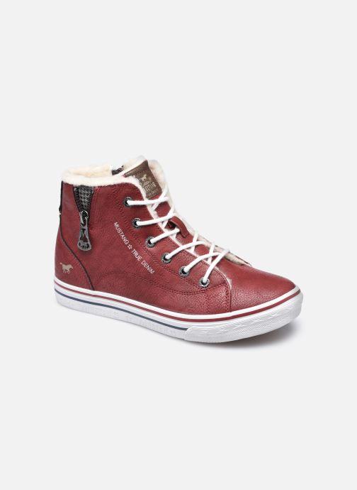 Baskets Mustang shoes 5056604 Bordeaux vue détail/paire