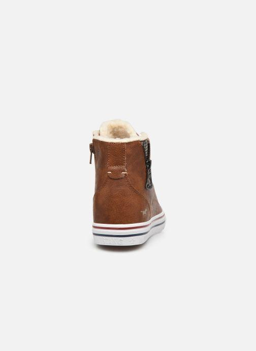 Baskets Mustang shoes 5056604 Marron vue droite